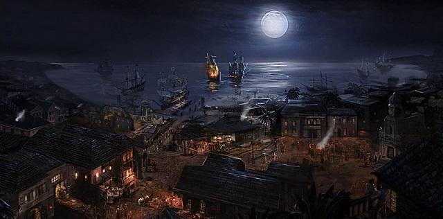 пиратский порт
