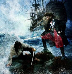 бой пиратов