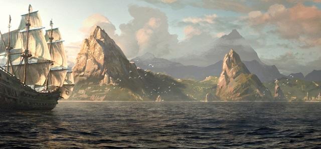 остров пиратов
