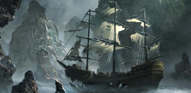 Корабль «Летучий Голландец». Вечные скитания