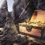 Пиратская карта сокровищ