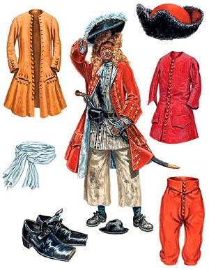 одежда капитана