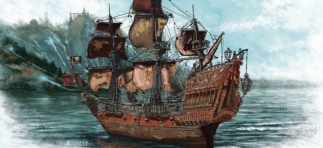 Корабль «Месть королевы Анны»