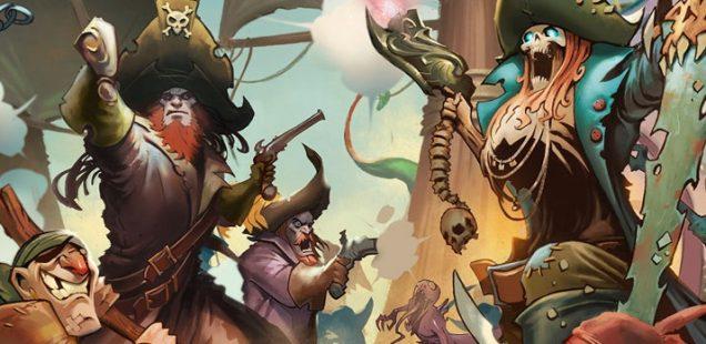 Настольная игра про пиратов «Ром и кости»