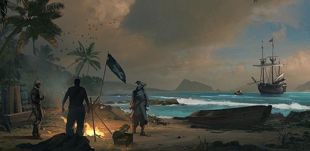 пираты на острове