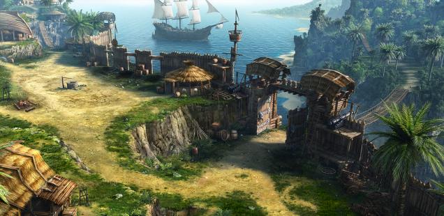 Остров расширяется!