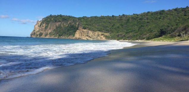Пляж в Карибском море за биткоины
