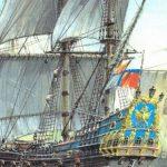 Первый российский корабль «Орeл»